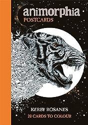 Animorphia Postcards by Kerby Rosanes (2016-08-01)