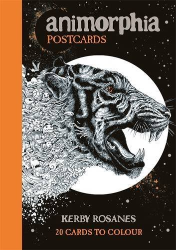 Animorphia Postcards by Kerby Rosanes (2016-08-01)