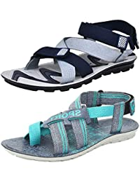 3f46b173d3b7 ... Shoes   Sandals   Floaters   Last 30 days. Super Men s Casual Daily  Wear Combo Pack of 2 Canvas Multi-Color Sandal   Floater