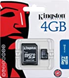 Kingston 4GB (SDC4/4GB) microSD HC Memory Card