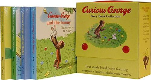 Curious George Story Book Collection Boxed Set