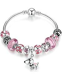YOUFENG Jewellery Mujer    chapado en plata     Crystal