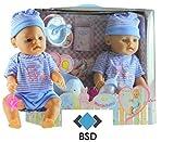 Bambolina con Vasino e Accessori - bambino nato Bambola interattivo - Funzionale Bambolina -Neonato - Interactive Bambolina - ragazzino