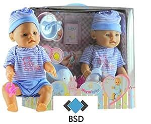 babypuppe mit t pfchen und zubeh r funktionspuppe neugeborenen puppe baby doll s uglings. Black Bedroom Furniture Sets. Home Design Ideas