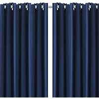 Set di 2 tende termiche isolanti e oscuranti con occhielli