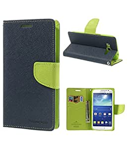 Mercury Fancy Diary Wallet Flip Cover For Micromax Canvas Juice 2 AQ5001