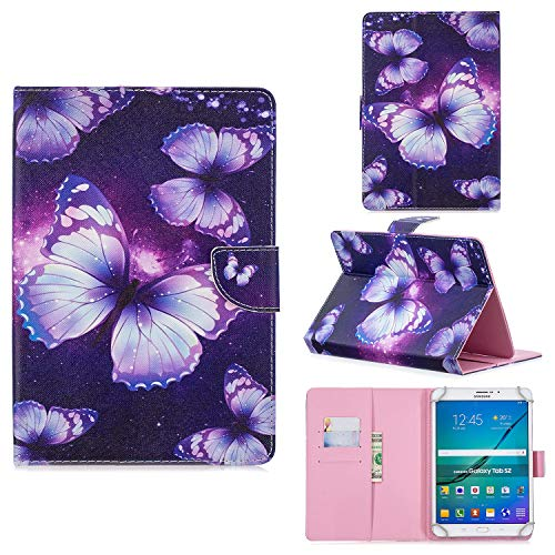 """TEYOON Universal 10\""""Zoll Tablet Case,10,1\"""" Zoll Tablet Hülle,Leder Stand Schutzhülle Folio Cover für ACEPAD/YUNTAB/Asus/Padgene/YOTOPT/Samsung/Huawei/Lenovo/Acer 10 Zoll & 10,1 Zoll Android Tablet"""