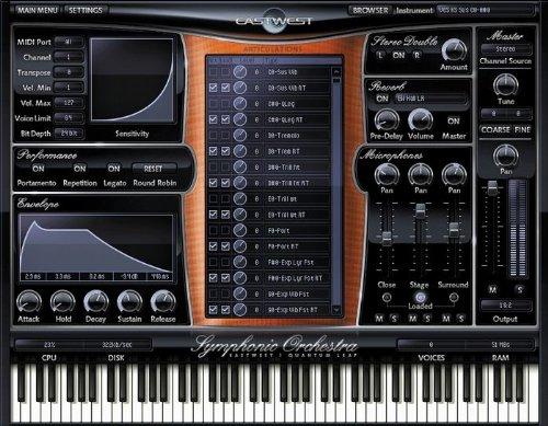 Quantum Leap Symphonic Orchestra Silver complete