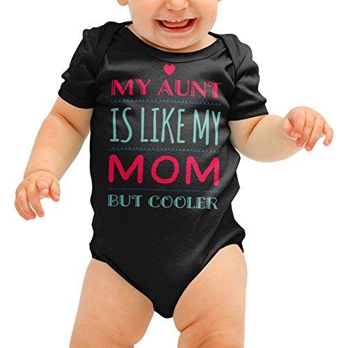 meine Mutter, aber cooler Babygrow Tante niedliche Baby-Anzug wachsen Körper Spielanzug jungen Mädchen Dusche Geschenk (Halloween-dekoration-clearance Sales)
