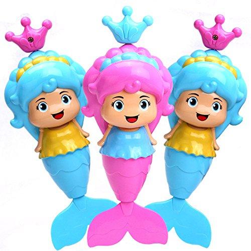 Smartcraft Lovely Little Mermaid Bath Toy (Pack of 1 Mermaid Toy)