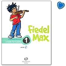 fiedel de Max para violín Escuela de banda 1–Escuela con Bunter herzförmiger–Partituras Alfons Madera zapato vhr38019783920470429