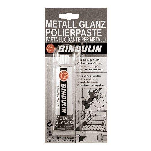 Tube Metallglanz Polierpaste weiss (Roter Pool Tube)