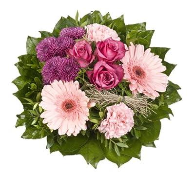 """Blumenstrauß """"Isabell"""" mit pinken Rosen von Amazon.de Pflanzenservice - Du und dein Garten"""