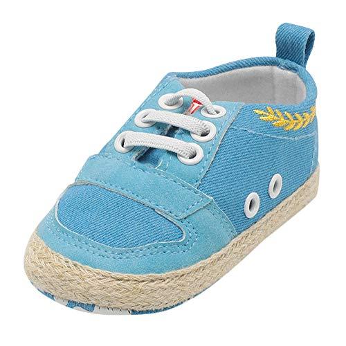 Beikoard Reine Kleinkindschuhe Nicht Fallen Lassen Einzelne Schuhe Kindergurte Krippe Schuhe Weiche Sohle Anti-Rutsch-erste Walker Schuhe (Kinder Halloween Walker)