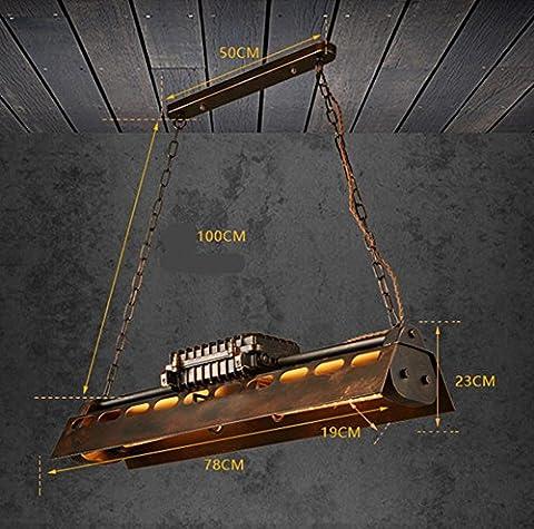 DMMSS Eisen Kronleuchter Industrie Wind Schwer Dish Geschmack Restaurant Bar Rusty Beleuchtung Retro Nostalgic Bar (Schmetterling Dish)
