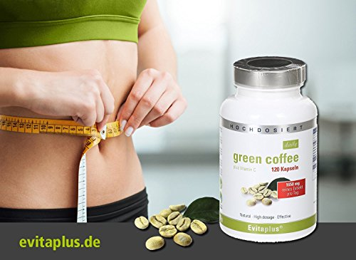 Green Coffee DAILY 120 Kapseln – reines Extrakt 1.650 mg pro Tag