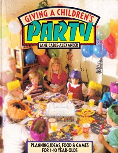 giving-a-childrens-party