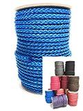 30m Rolle 8 mm  POLYPROPYLEN-SEIL PP-Seil  verschiedene Farben Flechtleine Tau-werk Reepschnur Festmacher Schnur Universalseil