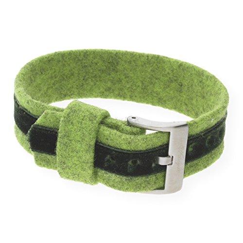 Waidzeit Wechsel-Armband BA0303 ALPIN Armband grün