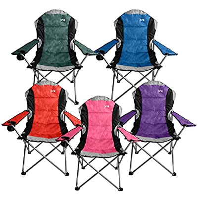 Kestrel Deluxe Padded Folding Chair - inexpensive UK light shop.