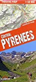 Pirineos, mapa excursionista plastificado. Escala 1:75.000. TerraQuest. (Trekking map)
