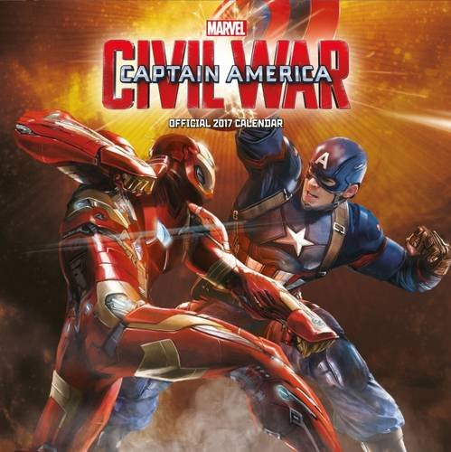 Avengers-Captain-America-Civil-War-Official-2017-Square-Calendar-Calendar-2017