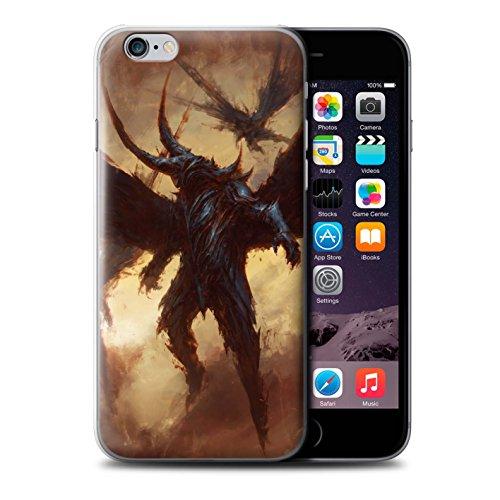 Offiziell Chris Cold Hülle / Case für Apple iPhone 6S+/Plus / Flügel von Nox Muster / Wilden Kreaturen Kollektion Flügel von Nox
