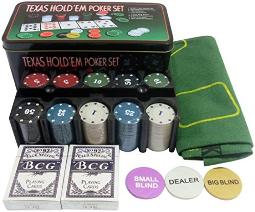 House of Quirk 200 Chip Casino Poker Game Set