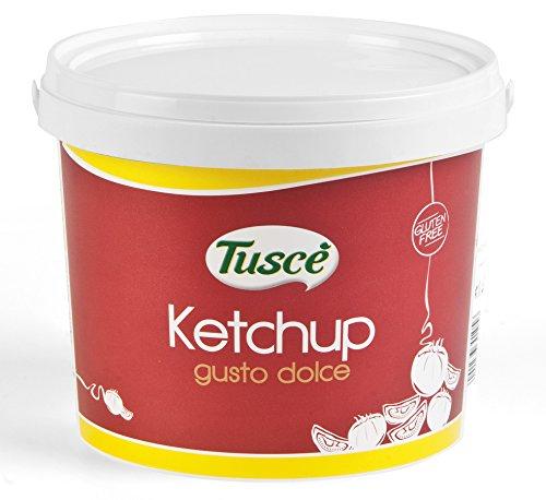 BARATTOLO SECCHIELLO KETCHUP TUSCE' 5 KG SECCHIO FOOD SERVICE SALSA POMODORO