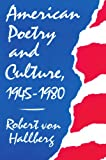 Best Harvard University Press Of The American Poetries - American Poetry and Culture, 1945-1980 Review