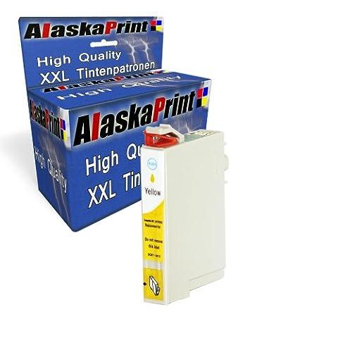 Premium Druckerpatrone Kompatibel für Epson T0714 XL Gelb Yellow Epson Stylus SX210 SX205 SX405 epson stylus DX5050 Epson Stylus Office BX610FW Epson Stylus Office BX610FW BX310FN B40W