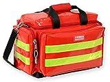 Borsa Smart in PVC, piccola, rossa, per soccorritori, medici, paramedici, professionisti