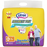 Lifree Adult Pant Style Diaper - XL (35-49 inch) -  8 count