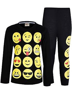 [Sponsorizzato]Pigiama maniche lunghe PJS AmzBarley Set per ragazze da 1-10 anni