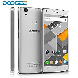 Unlocked Mobile Phones, DOOGEE X5 MAX PRO Smartphone, 5 Inch IPS Display, 4G LTE, 2GB RAM+16GN ROM, 4000mAh Super Battery, Dual SIM SIM-Free Cellphone(Warranty) - White