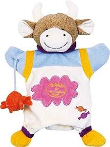 Marionnette vache avec bonbon Doudou et Compagnie