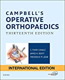 Campbell's Operative Orthopaedics: 4-Volume Set, International Edition