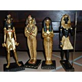 4 Figuren Ägypten Maahes Kleopatra