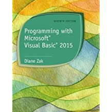 Programming with Microsoft® Visual Basic® 2015