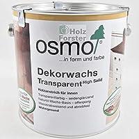 Osmo-Color Dekorwachs transp. 2,500 L
