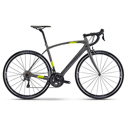 Rennrad Haibike Affair Race 6.0 28' Carbon Ultegra 6800 , Rahmenhöhen:52, Farben:Titan/Lime matt