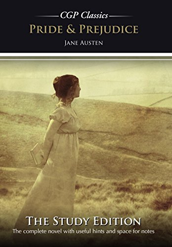 Pride and Prejudice by Jane Austen Study Edition (CGP GCSE English 9-1 Revision) (English Edition) -