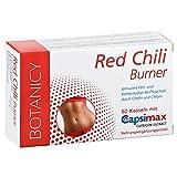 Fatburner RED CHILI BURNER mit Capsimax, abnehmen leicht gemacht mit Capsaicin aus roter Chili, schnell schlank sein, simpel abnehmen, reguliert als Appetitzügler den Appetit*, 60 Kapseln (Monatspack)