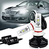9005 HB3 Led Headlight Bulbs Conversion Kit PHI-ZES Chips...