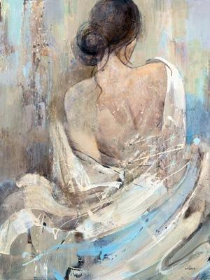 Canvas romantische Hübsche Frau nackt Ölgemälde auf Leinwand / Malerei / Ölgemälde , 60cm*80cm (Renaissance-shirt Baumwolle)