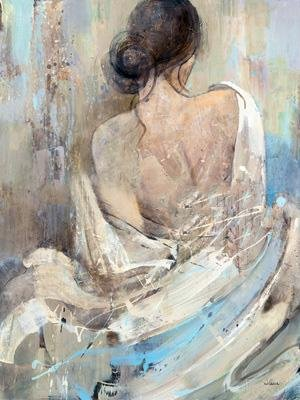 Canvas romantische Hübsche Frau nackt Ölgemälde auf Leinwand / Malerei / Ölgemälde , 60cm*80cm (Renaissance-shirt Männer,)