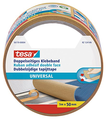 Tesa Doppelseitiges Klebeband Universal, 5 m, 50 mm