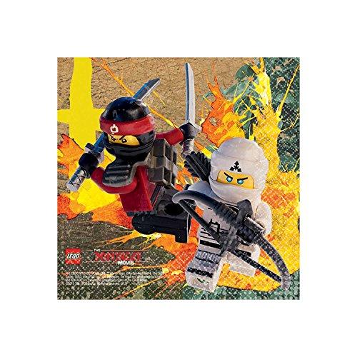 Lego, Ninjago-Geschirr, Serviette (Lego Red Ninja)