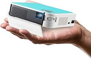 Viewsonic M1 Mini Plus Portable Led Projector Wvga 120 Lumens Hdmi Micro Usb Usb Wlan Connectivity Bluetooth 2 Watt Speaker Multicoloured Home Cinema Tv Video
