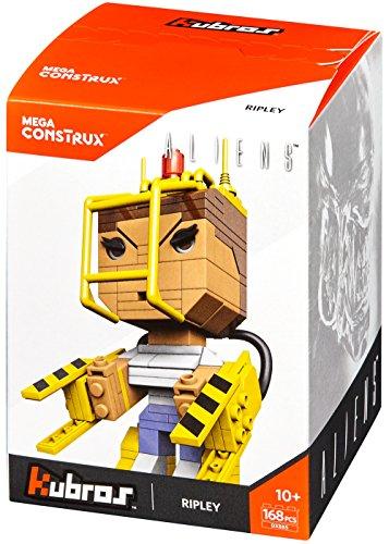 Mattel Mega Cons Trux dxb85-Collectors kubros Ellen de Ripley Alien, Juguete